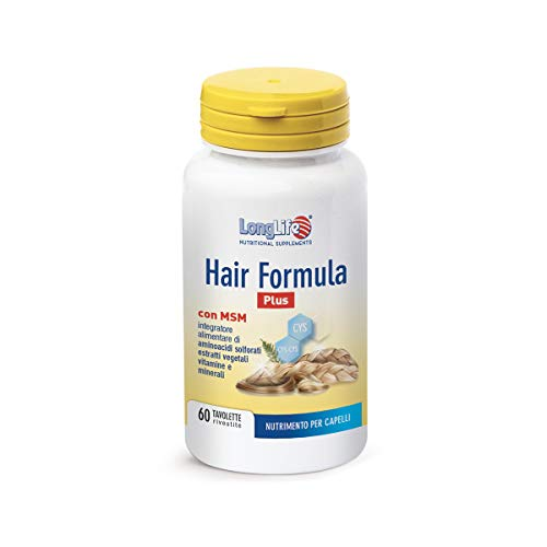 LongLife Hair Formula Plus - 114 Gr