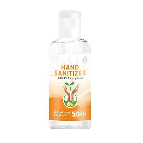 Handseife VE und Aloe Vera- Antibakterielle Flüssigseife - 50ml/100ml Handgel Achcolgel für Hygienisch Saubere Hände Schutz und Hygiene, Tragbar Schnelltrocknend No-Wash
