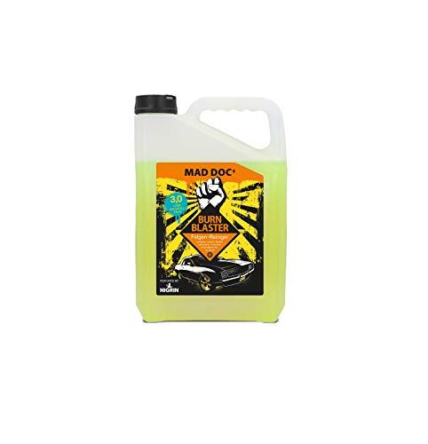 NIGRIN MAD DOCs Felgen-Reiniger BURN BLASTER, für polierte, verchromte und matte Stahl -und Leichtmetallfelgen, 3 Liter