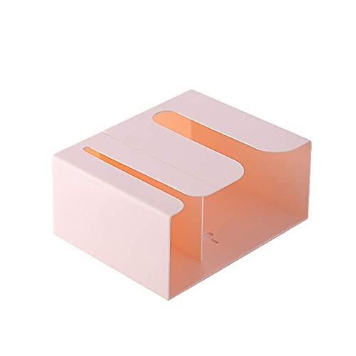 Soporte para Papel higiénico a Prueba de Humedad Soporte para Papel higiénico montado en la Pared Soporte para pañuelos Autoadhesivo sin Perforaciones con función de exportación de Bolsa de Basura y