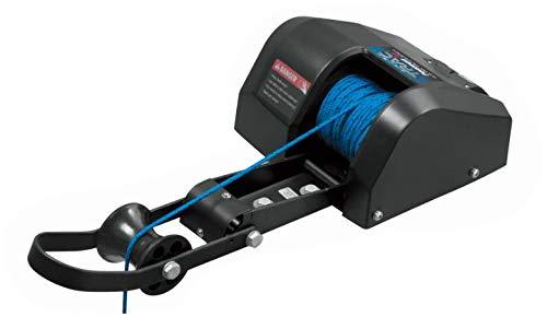 Elektrische Ankerwinde 30m 12V schwarz Süßwasser für Anker bis 13,5Kg Seilwinde