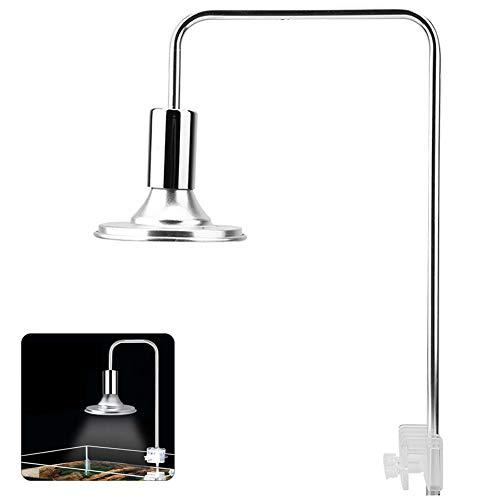 Pincet voor aquarium, LED, moderne lamp, hoge helderheid, moderne stijl, 220 V, met houder en klem voor aquariumhouders, 40 watt.