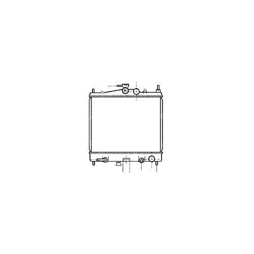 VAN WEZEL 13002211 Kühler, Motorkühlung