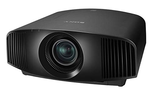 Sony Home Theater Projector VPLVW295ES Full 4K HDR Video Projector for TV, Movies and Gaming Home Cinema Projector with 1,500 Lumens for Brightness and 3 SXRD Imagers for Crisp, Rich Color (Renewed)