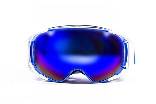 OCEAN zonneglazen - Snowbird - Masque - Monture: Bleu - Verres : Revo Bleu (YH3204.1)