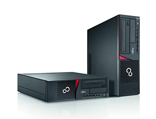 Fujitsu Esprimo E720 SFF Intel Core i3 240GB SSD (NEU) Festplatte 8GB Speicher Windows 10 Pro DVD Laufwerk Business Desktop Computer Mini PC (Zertifiziert und Generalüberholt)