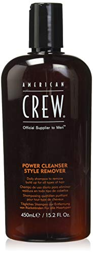 AMERICAN CREW Power Cleanser Style Remover Shampoo, 15.2 Fl Oz