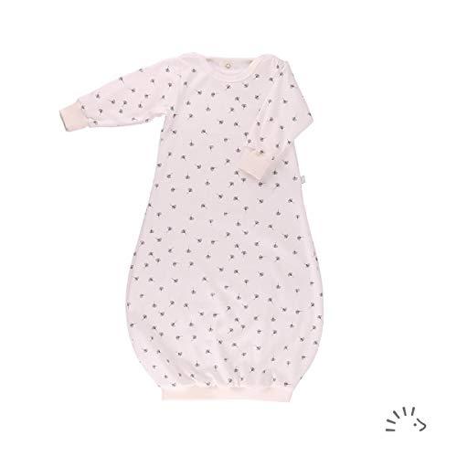 iobio Schlafhemd Nachthemd Baby Gown Schlupfschlafsack (Ginkgo 62/68)