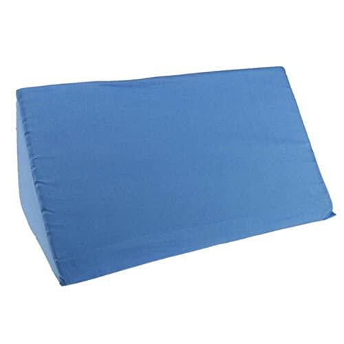 LSYC Nuevo ácido ortopédico Reflujo de reflujo cuña de cuña con cuña de algodón de algodón Trasero Elevación Cojín Almohadilla Cojín con Cremallera Almohada 729 (Color : Blue)