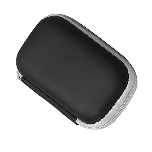 Soapow Bolsa de almacenamiento de viaje portátil con cremallera funda protectora para oxímetro de la punta del dedo