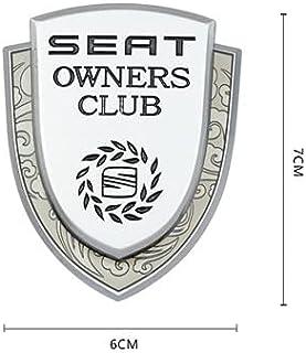 Auto 3D Uiterlijk Sticker FR Metalen Seat Autoraam Embleem 3D Badge Sticker Auto Decoratie Decal Styling Logo Voor Ibiza L...