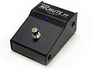 Whirlwind Micmute Push to Mute Latching Push On/Off Foot Pedal Mic Switch with XLR I/O Jack