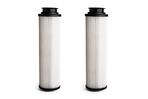 Green Label Brand 2 Pack Replacement HEPA Filter Type 201 for Hoover Windtunnel, Savvy and Empower Vacuum Cleaners (Compares to 43611042, 42611049, 40140201). Washable and Reusable