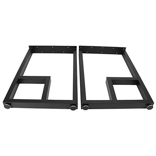 Pata para muebles rústicos industriales, patas de mesa de hierro forjado, piezas de repuesto para mesa de consola lateral de café de estilo rústico industrial