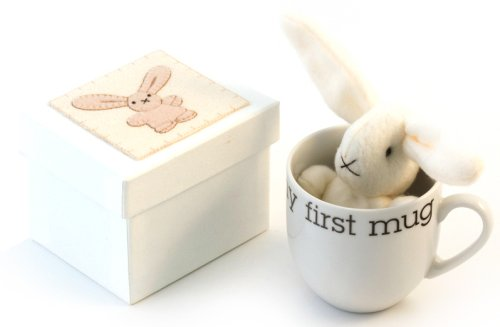 Kitted Out - BC98 - My First Friend - Mug en porcelaine et lapin en polaire