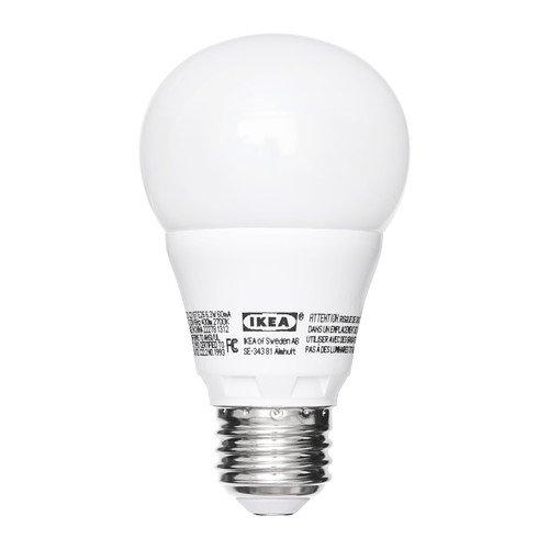 Ledare E26 400 Lumen, 6.3 Watts, 2700K Opaque LED Light Bulb (1 Bulb)