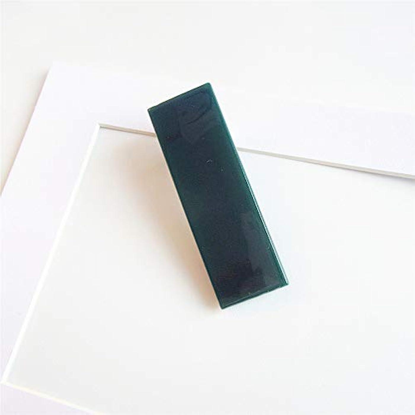 地上の誠実さ利用可能HuaQingPiJu-JP 1 Pcシンプルなエレガントなヘアクリップファッションアクセサリー(ダークグリーン)