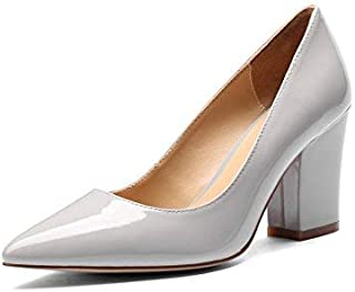 04d375e63f2 MANRINO Princess Medium Block Heel Patent Leather Handmade Luxury Dress  Pump Shoes Women Girls