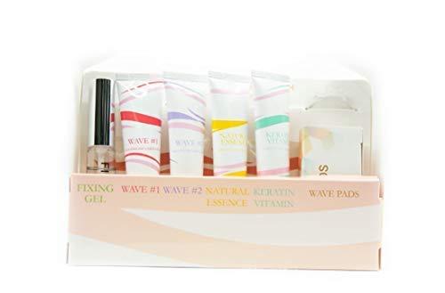 Beauty Wave Pestañas Laminación Keratina Vitamina Lash Potenciador Permanente Kit con Aminoácidos