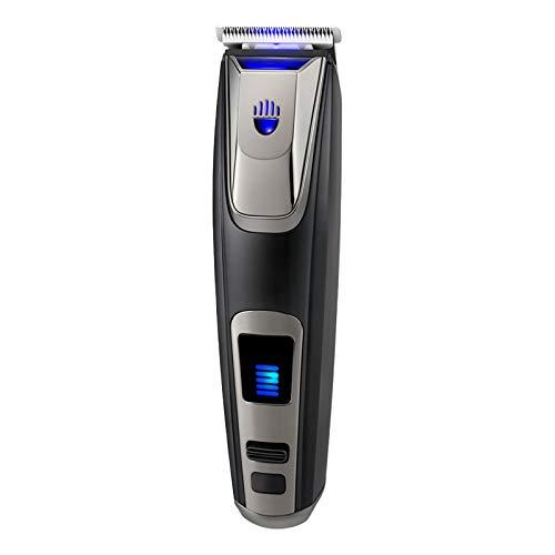 SunshineFace Eléctrico Hair Clipper Set de Afeitadora de Pelo Cargable Herramienta de Corte de Pelo con Luz Afeitado Depilación Productos