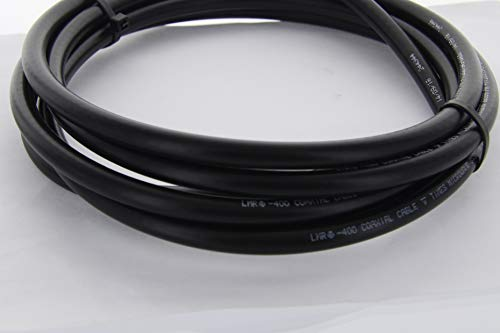 30ft RFC400 50Ohm Coax RF Microwave CB Ham Cable N male Connectors FREE SHIPPING