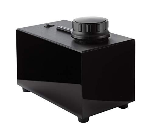 Record Doctor Schallplattenwaschmaschine VI, Set mit 2in1 Reinigungs-Bürste mit Samt, Reinigungs-Flüssigkeit und Tuch, Hochglanz Schwarz