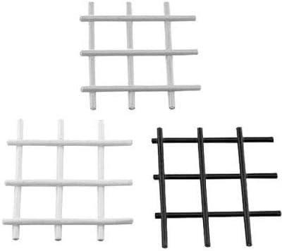 80 20 2472-48X96 PVC Coated Wire NEW Panel Black - Fashion 12 Mesh GA