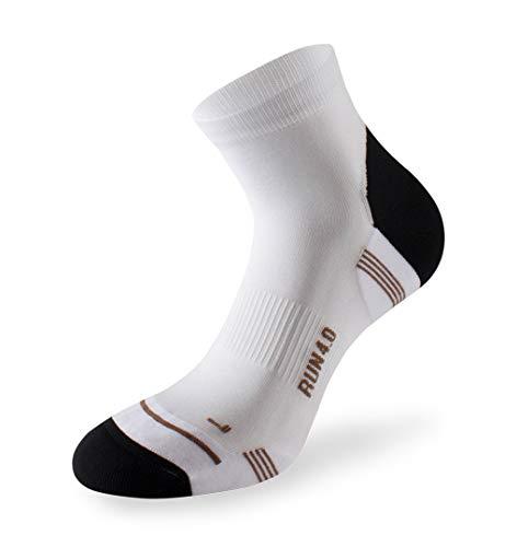 Lenz Running 4.0 Sportsocken Weiß, 085wht, Größe 35 - 38