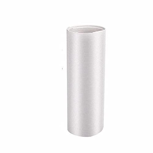 Tubo di scarico PVC flessibile flessibile, tubo flessibile di scarico Finestra Sliding Kit Sliding Kit Air Condizionatore Air Condizionatore d'aria Accessori Connett 2m