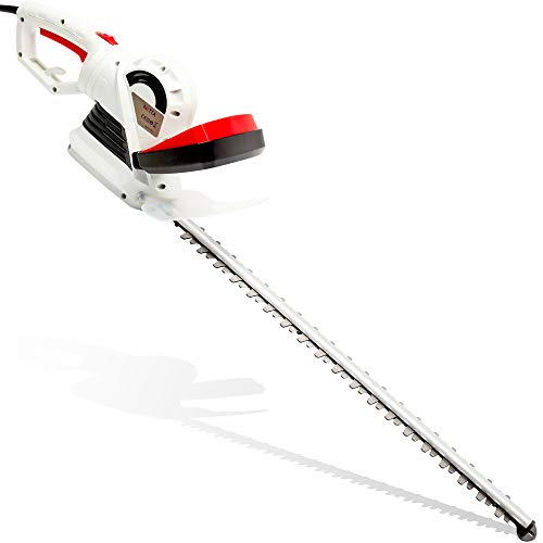NETTA Hedge Trimmer Cutter - 710W High Power with 66cm Long Diamond Cutting Blade, Rotate Handle -...