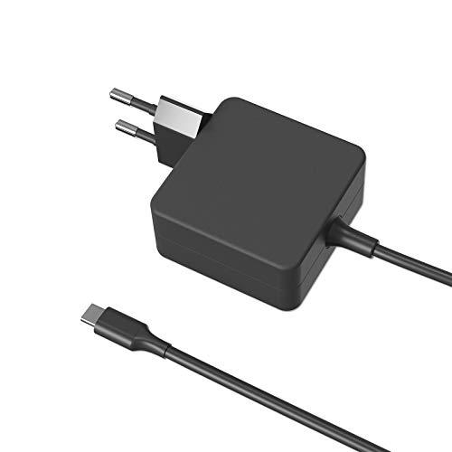 Milipow Adaptador de carga rápida USB-C de 65 W con tecnología GaN-Tech, compatible con Samsung Galaxy S20 FE, Galaxy Tab, Xiaomi 10T Pro, Oppo Find X2 Lite, Sony Xperia L4