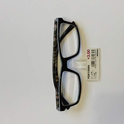 YGK108/BONOX/ダルトン/おしゃれ/老眼鏡/シニアグラス/Reading Glasses/ (1.0, BK)