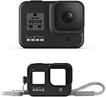 GoPro HERO8 Black Waterproof Action Camera with Touch Screen 4K Ultra HD Video 12MP Photos 1080p Live Accessory Bundle -...
