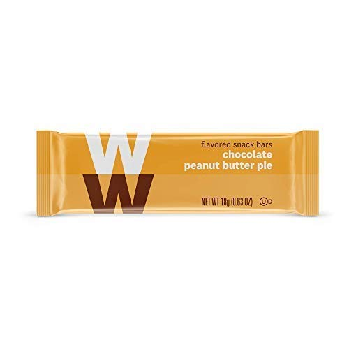 WW Chocolate Peanut Butter Pie Mini Bar - Kosher, 2 SmartPoints - 1 Box (24 Count Total) - Weight Watchers Reimagined