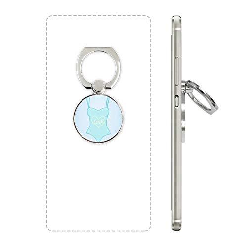 DIYthinker Illustratie Blauw Badpak Mobiele Telefoon Ring Stand Houder Beugel Universele Smartphones Ondersteuning Gift