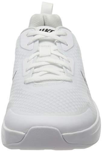 Nike Wearallday, Sneaker Hombre, White/Black, 43 EU