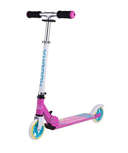 Hudora Scooter per Bambini–Skate Wonders–Pattumiera a Pedale di Scooter, Kick Board, 14501