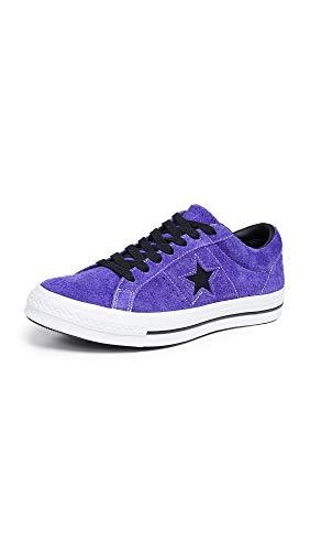 Converse One Star Dark Star Vintage Suede OX Sneaker Herren lila/schwarz, 42 EU - 8.5 UK - 8.5 US