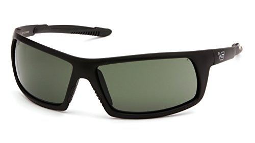 Venture Gear Stonewall Safety Sunglasses, Black, Forest Gray Anti-Fog Lens