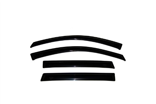 Auto Ventshade 94055 Original Ventvisor Side Window Deflector Dark Smoke, 4-Piece Set for 2004-2006 Chevrolet Aveo