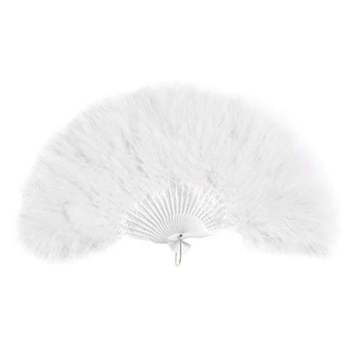small feather fans - 9