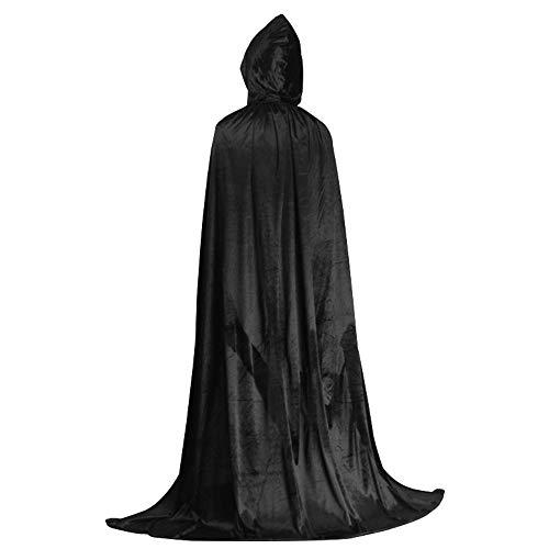 Cosplay Halloween Kostuum, Volwassen Mantel Kind Meerdere Kleur Demon Wizard Goud Fluwelen Kleding, Pasen Party Game Uniform