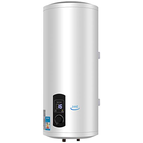 FlowerW 100L Elektrische Warmwasserbereiter 3KW Warmwasserbereiter mit Tank Warmwasserbereiter für Küche,Bad (100L)