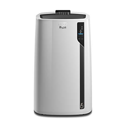 De'Longhi 12500 BTU Smart Portable Air Conditioner, Heater, Dehumidifier & Fan+ WiFi, Works w/ Alexa & Google Home, Quiet Mode, 550 sq ft, Large Room, Pinguino7200 (DOE), White