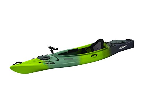 Third Coast Huron 120 Sit In Angler Kayak (Citron/Black/Gray)