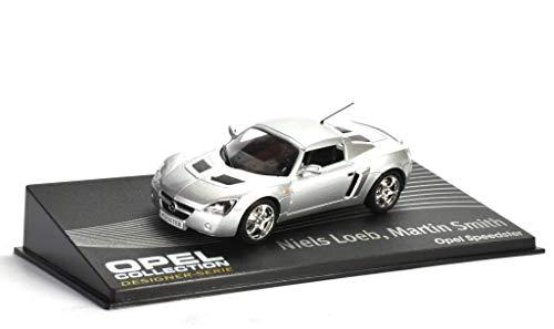 Opel Speedster Fertigmodell in Displayvitrine Maßstab 1:43