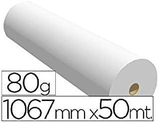 Navigator 1067X50 80 - Papel reprografía para plotter, 1067 mm x ...