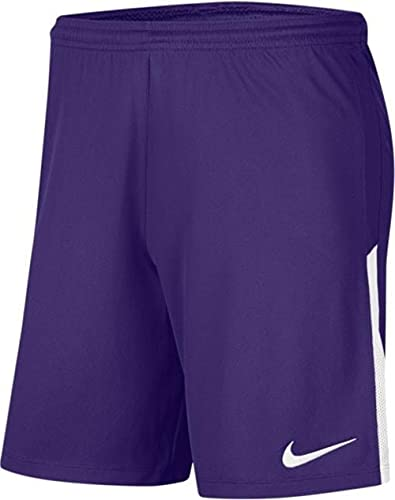 NIKE Dry Lge Knit II Pantalones Cortos de Deporte, Purple/White/White, 12-13 Años Unisex niños