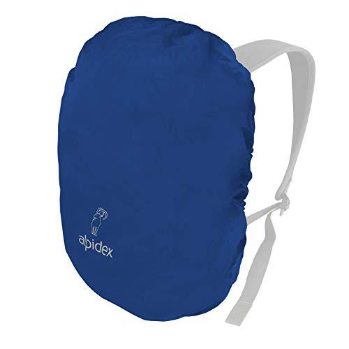 ALPIDEX Funda Mochila Cubierta Lluvia Mochila Fundas Impermeable Distintos Tamaños, Color:Blue, Volumen in l:6-15 litro