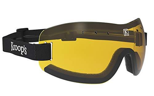 kroops Schutzbrille d.z Freien Fall//Fallschirmspringen Brillen komplett mit gratis kroops Schutzbrille Mikrofaser Aufbewahrungstasche
